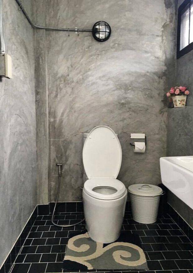 ห้องน้ำสไตล์โมเดิร์นลอฟท์