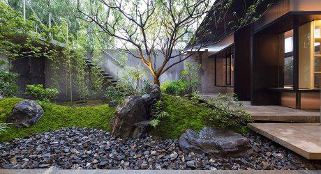 สวนญี่ปุ่นชุ่มชื้นและสงบ