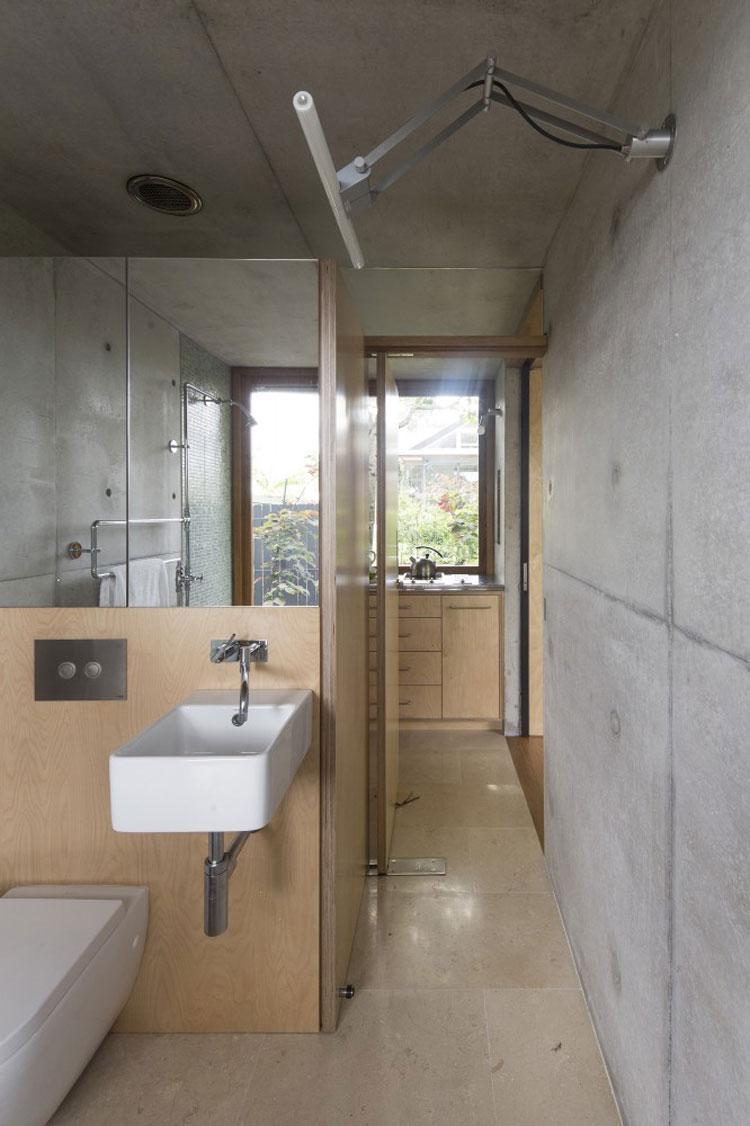 ห้องน้ำตกแต่งเรียบง่าย