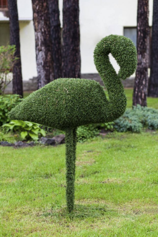 แต่งสวนกลางแจ้งด้วยหญ้าเทียม