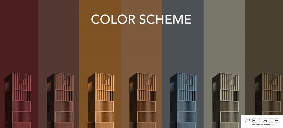METRIS CONDO-color-scheme