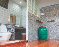 ห้องน้ำแบบ Open air