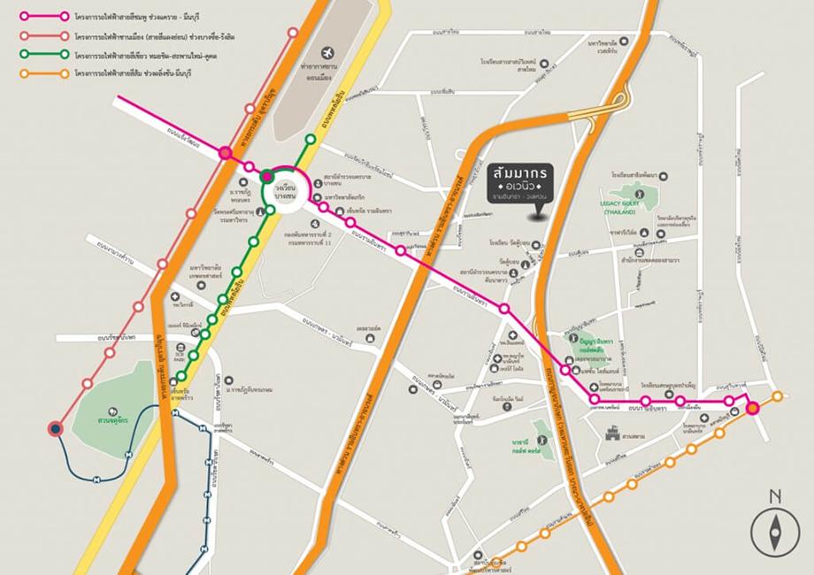 Maps สัมมากร อเวนิว รามอินทรา-วงแหวน
