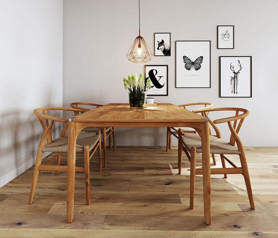 ชุดโต๊ะทานข้าวไม้