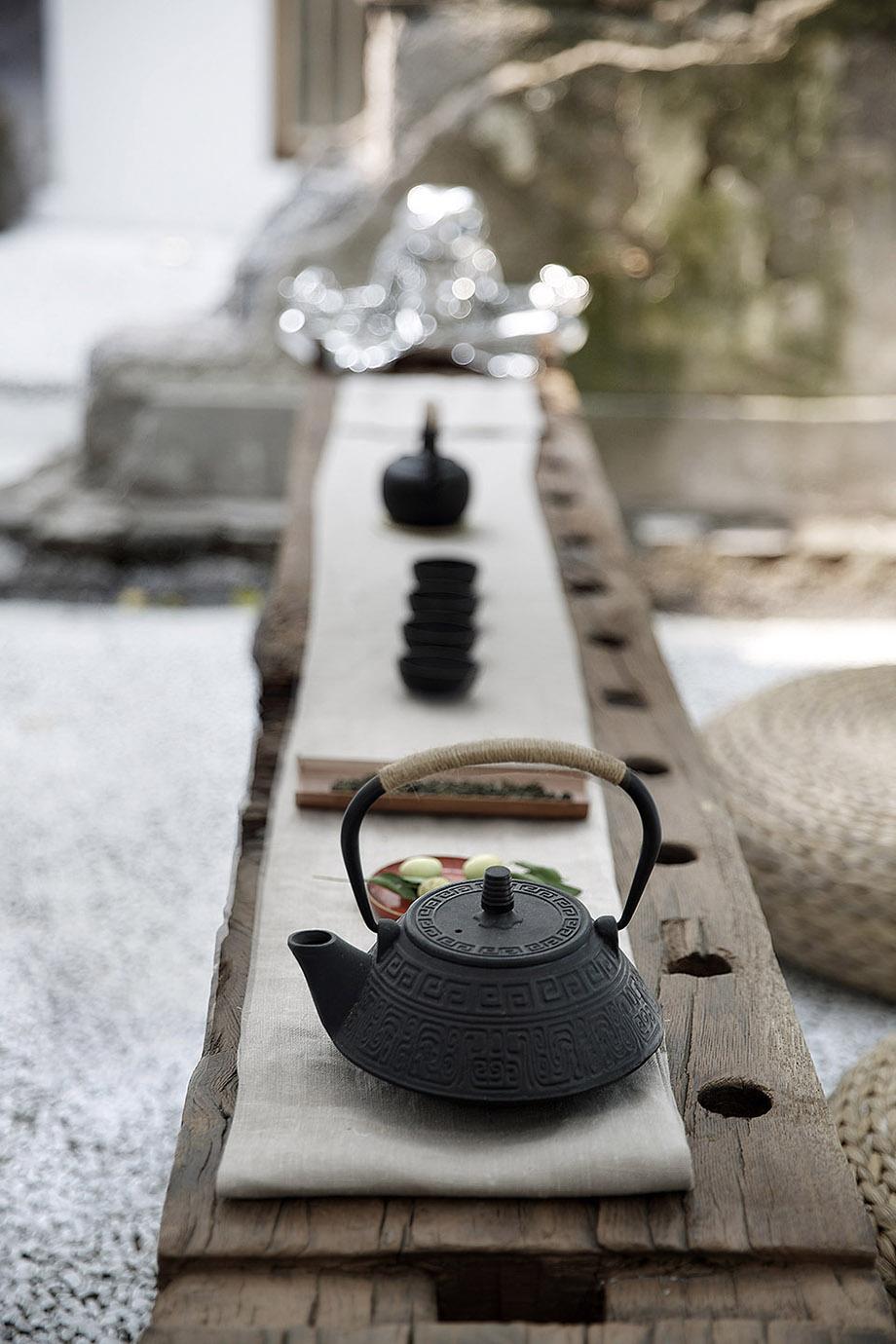 โต๊ะน้ำชาในสวน