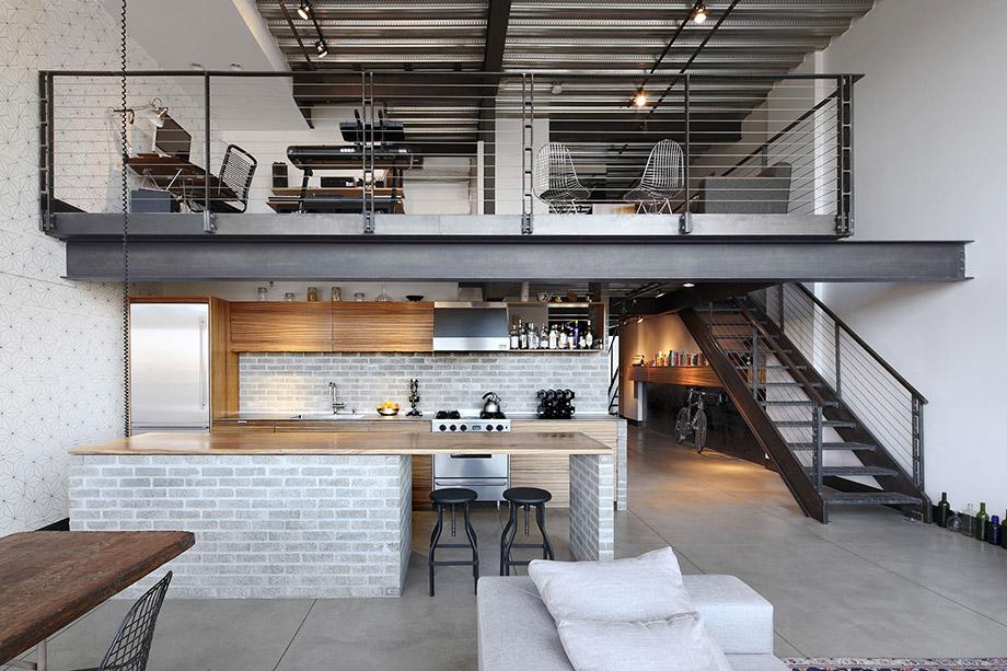แต่งบ้าน Industrial loft