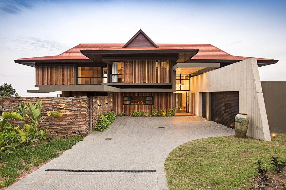 บ้าน Tropical Modern