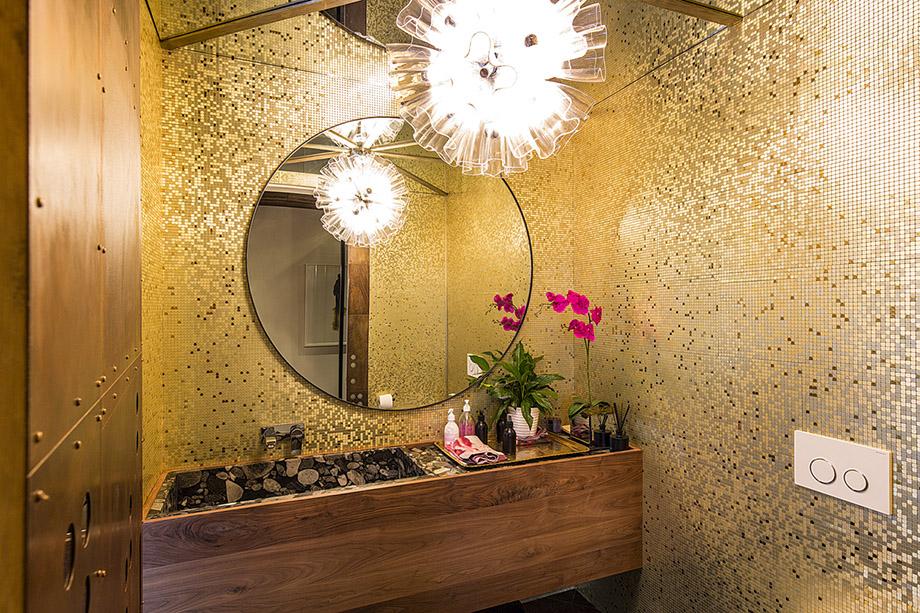 ห้องน้ำตกแต่งสไตล์ Mid Century Modern