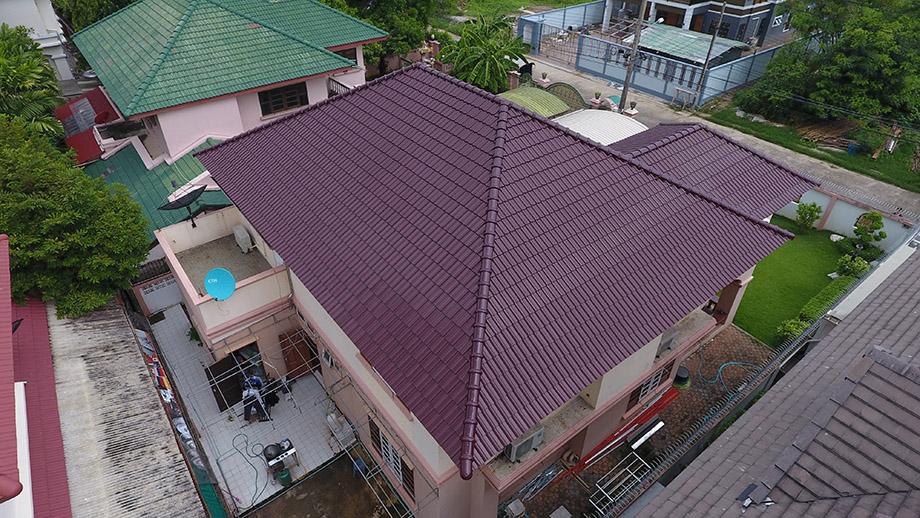 หลังคาใหม่จาก scg roof renovation