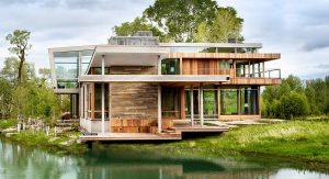 บ้านไม้ริมธาร