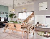 บ้านโปร่งสว่างอบอุ่นเป็นธรรมชาติ