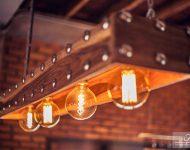 โคมไฟ Industrial-loft-d.i.y