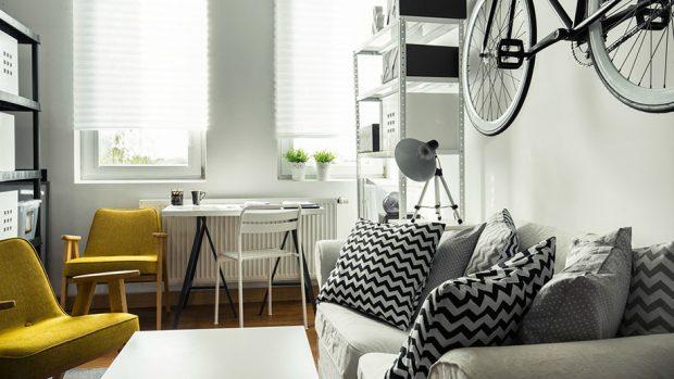ทาสีให้ห้องดูกว้าง