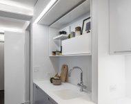 ชุดเครื่องครัวสีขาว