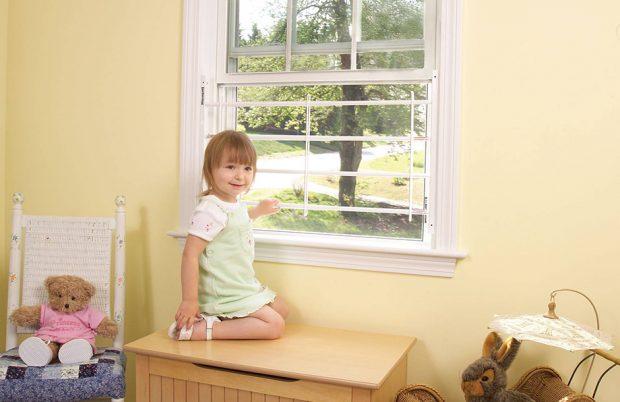หน้าต่างปลอดภัยสำหรับเด็ก