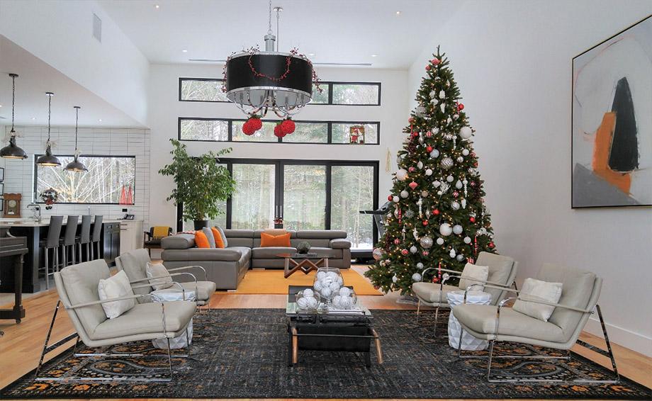 จัดบ้านต้อนรับเทศกาล christmas