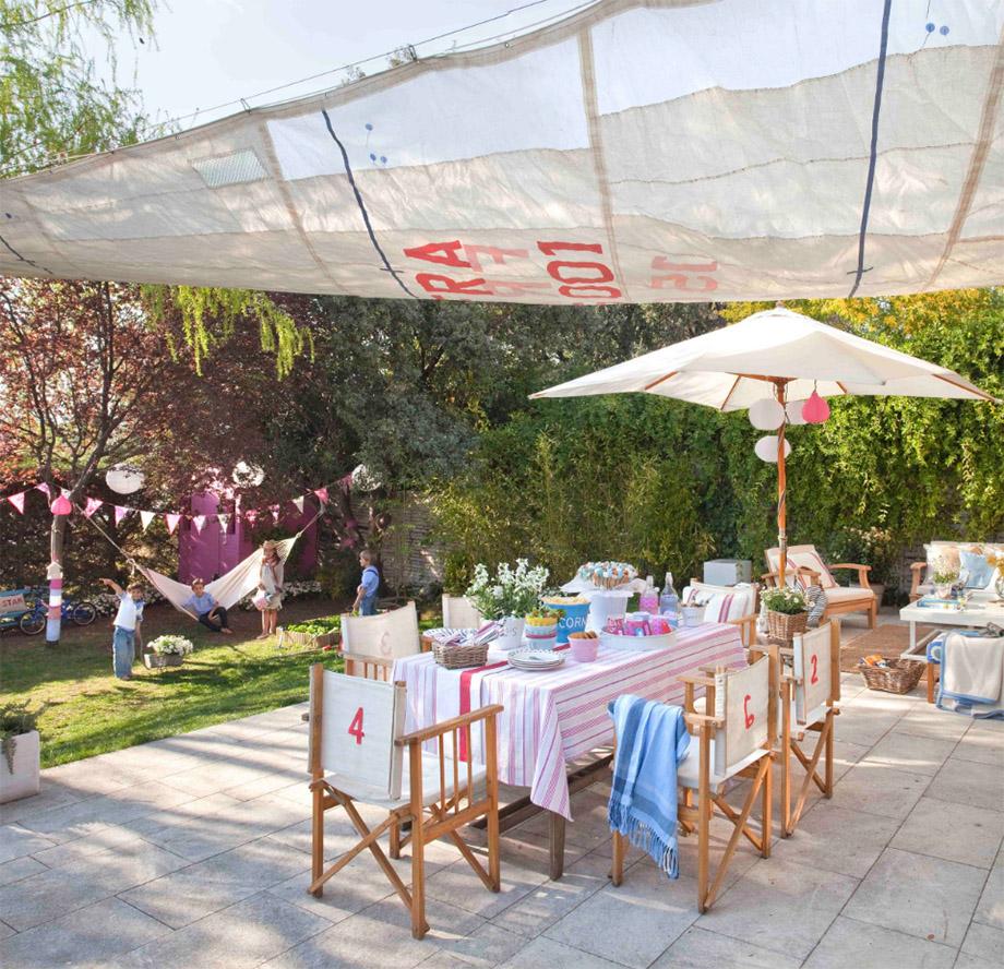 จัดงานปาร์ตี้กลางสวน