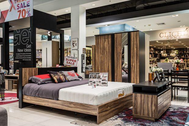 ชุดเตียงนอนลายไม้