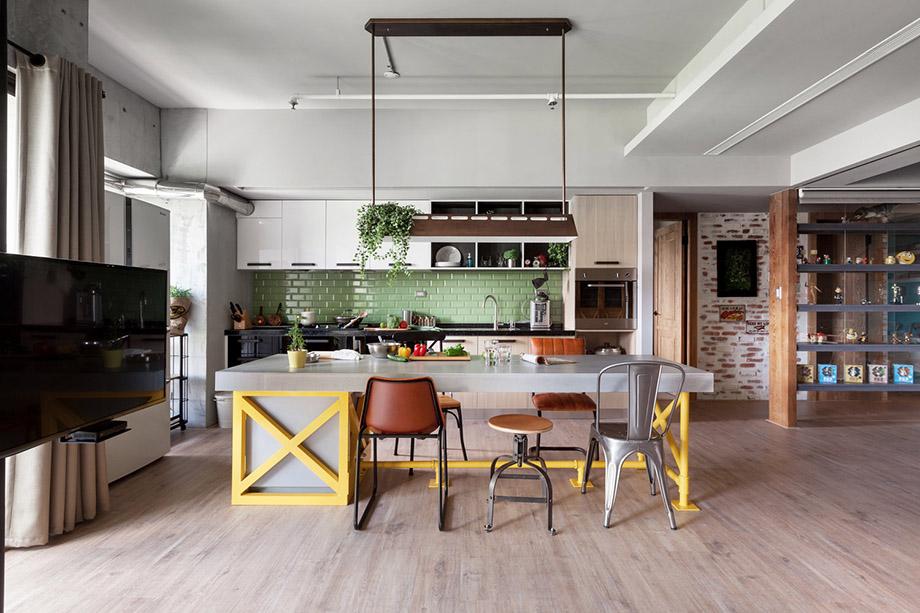 ห้องครัวแบบ in-line