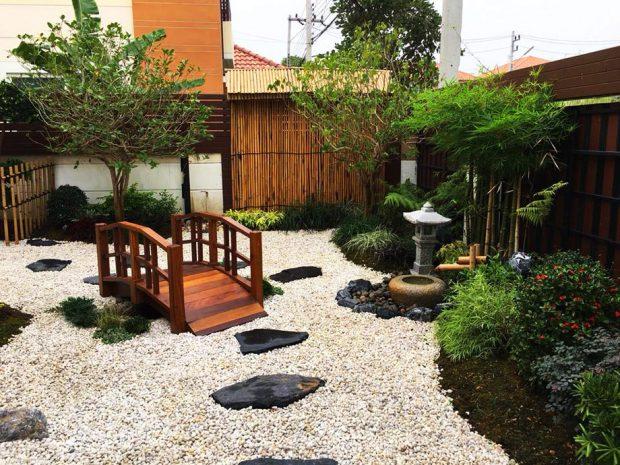 จัดสวนญี่ปุ่นสวย ๆ