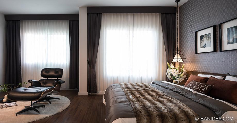 ห้องนอนใหญ่ มีโซนนั่งเล่น