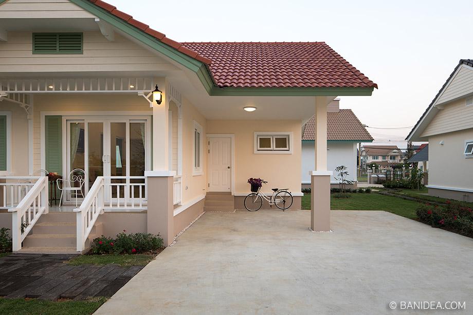 บ้านหลังเล็ก ชั้นเดียว เชียงใหม่