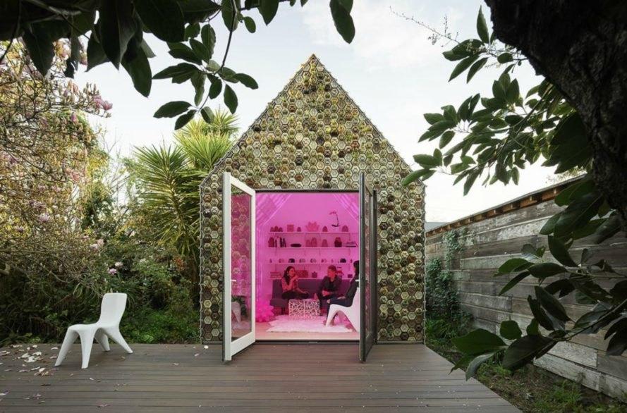 บ้านเล็ก ๆ ตกแต่งกระเบื้อง 3D