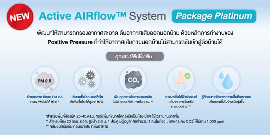 Active AIRflow™ Systemรุ่น Platinum ดีมั้ย