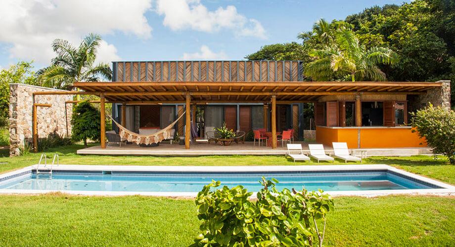 สร้างบ้านหรู จากไม้ไผ่