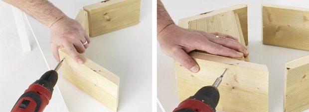 DIY กระถางแขนผนัง