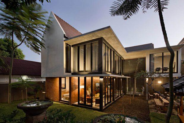 แบบบ้าน Modern-Tropical