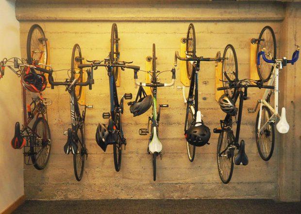 DIY ที่แขวนจักรยาน