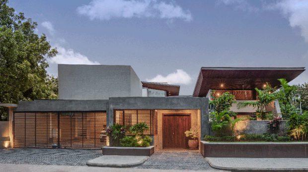 บ้านปูนเปลือย Tropical-Modern