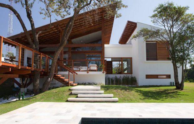 บ้านสไตล์ Tropical-Modern