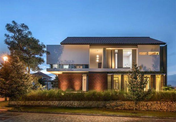บ้านสไตล์ contemporary-tropical
