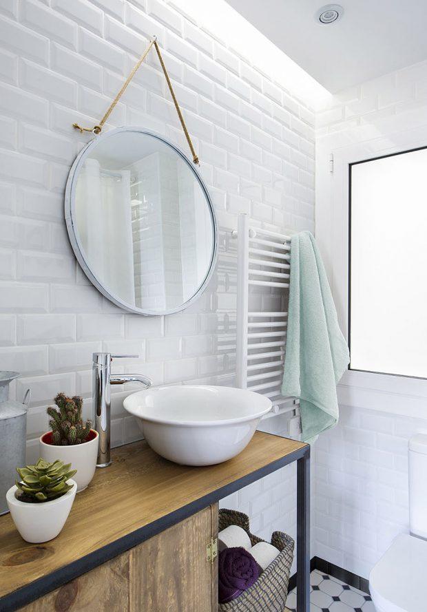 ตกแต่งห้องน้ำโทนสีขาว