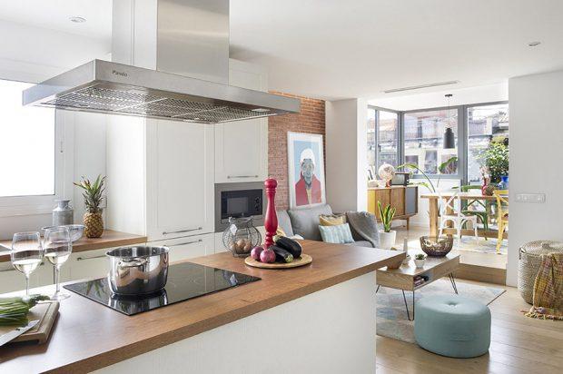 มุมครัวในอพาร์ทเมนท์