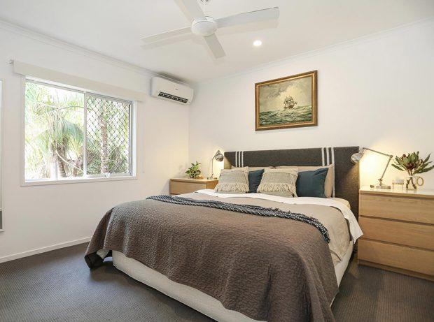ห้องนอนบรรยากาศสบาย