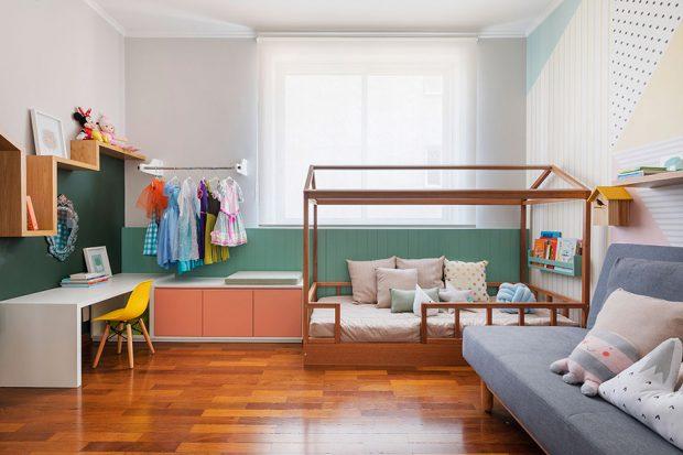 ห้องเด็กน่ารักเป็นธรรมชาติ