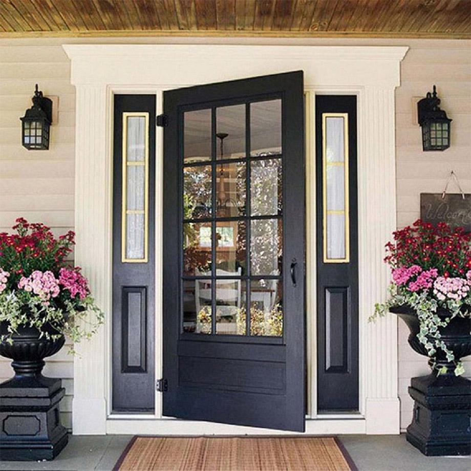 ประตูบ้าน เปิดออก