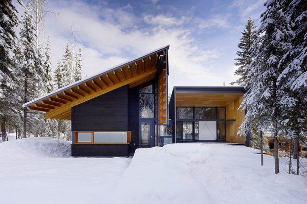 บ้าน หิมะตก