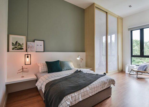 ห้องนอนสไตล์ Scandinavian