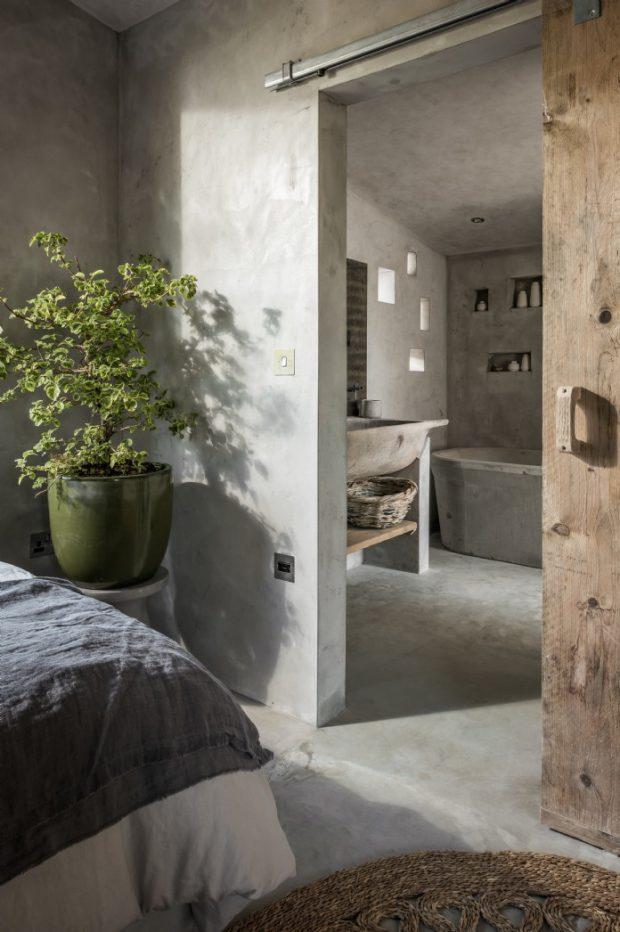 ห้องนอนพร้อมห้องน้ำในตัว