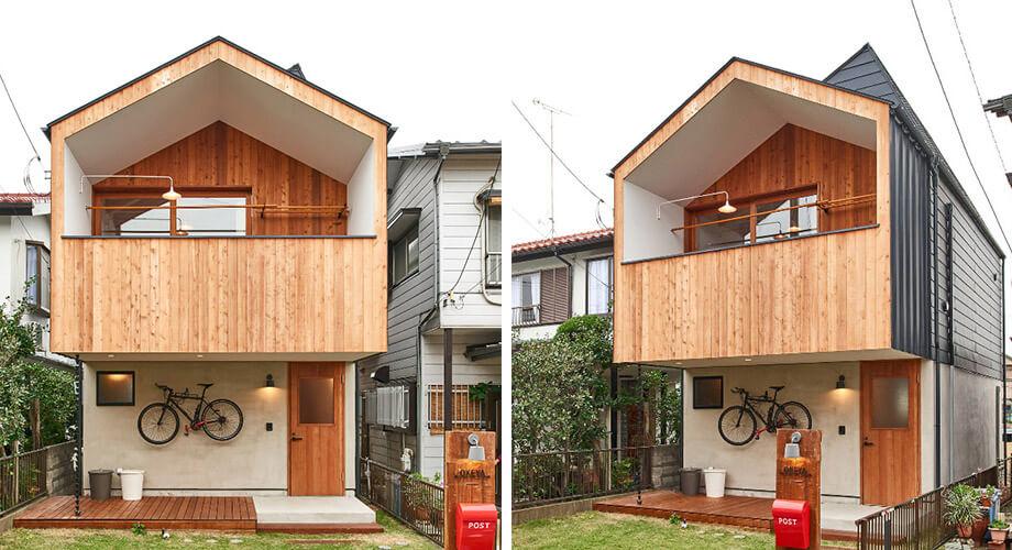 บ้านจั่วสองชั้น