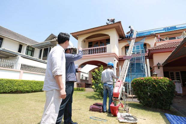 scg roof renovation