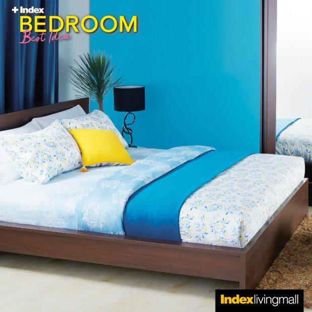 Idea ห้องนอนสีฟ้า