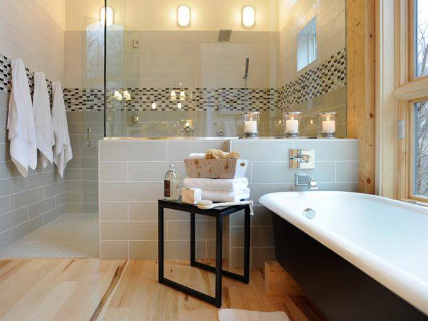 แยกโซนแห้งโซนเปียกในห้องน้ำ