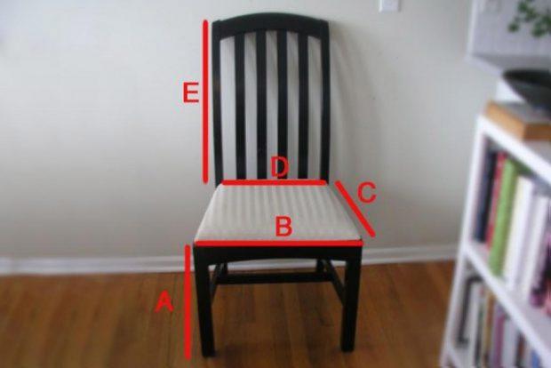 สัดส่วนเก้าอี้