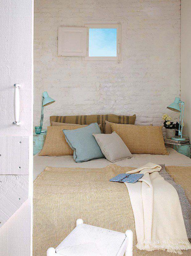ห้องนอนตกแต่งสีเอิร์ธโทน