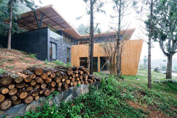 บ้านไม้สักโมเดิร์น